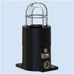 E501 - Ex d IIB Single StatusIndicator Lamp in cast iron